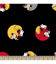 Disney Mickey Mouse Print Fabric-Mickey in Dots, , hi-res