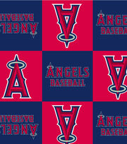 "Los Angeles Angels Fleece Fabric 58""-Block, , hi-res"