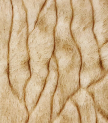 "Fashion Faux Fur Fabric 57""-Bark Fur"