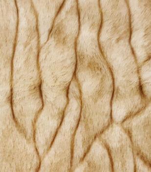 Fashion Faux Fur Fabric 57 Bark