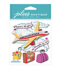 Jolee\u0027s Boutique Dimensional Stickers-Airplane