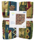 No Sew Fleece Throw 72\u0022-Distressed Wilderness Patch