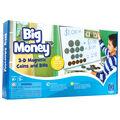 Big Money Magnetic Coins & Bills, 50/pkg