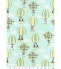 Nursery Cotton Fabric -Adventure Balloons