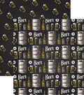 Craft Beer Double-Sided Cardstock 12\u0022X12\u0022-Cheers