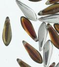Strung Beads-Menthol Dagger 5X16mm Backlit