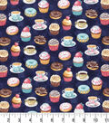 Premium Prints Cotton Fabric 43\u0022-Tea & Dessert