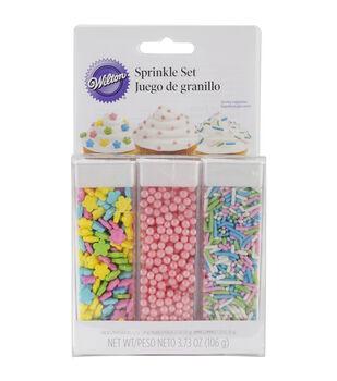 Wilton Sprinkle Set Pastel