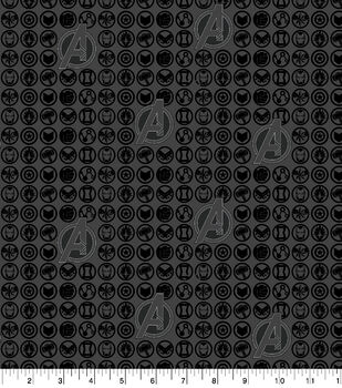 Marvel Flannel Fabric-Avengers Defend