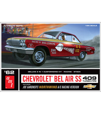 AMT Chevrolet Bel Air Super Stock 409 Turbo-Fire Model Car Kit