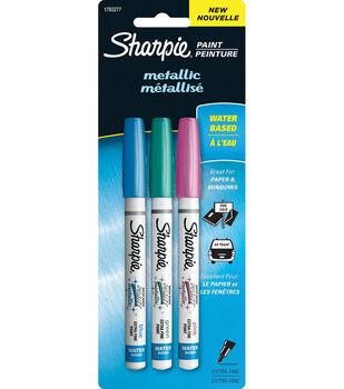 Sharpie Metallic Paint Pen Extra-Fine 3/Pkg