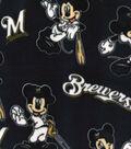 Milwaukee Brewers Fleece Fabric-Mickey
