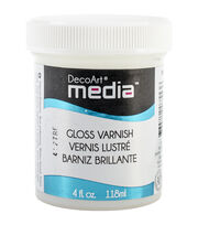 DecoArt Media 4 fl. oz. Varnish-Gloss, , hi-res