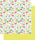 Hello Sunshine Double-Sided Cardstock 12\u0022X12\u0022-Summer Fun