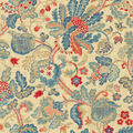 P/K Lifestyles Upholstery 8x8 Fabric Swatch-Conservatory Retold/Royal
