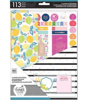 The Happy Planner Girl Classic Planner Accessory Pack-Happy Planner