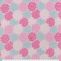 Snuggle Flannel Fabric-Pink & Mint Burst