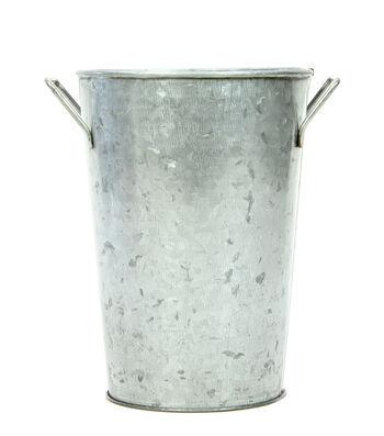 Galvanized French Bucket 7''