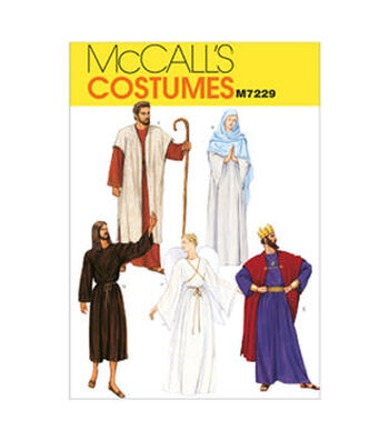 McCall's Pattern M7229 Adult Nativity Scene Costumes
