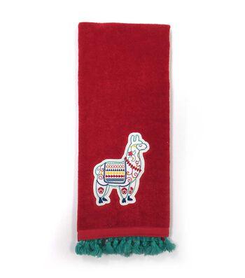 Hudson 43 Global Journey 16''x28'' Velour Terry Towel-Llama