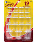 Simply Art Storage Cups 19/Pkg-Assorted Sizes