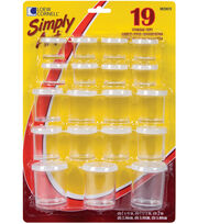 Loew-Cornell Simply Art 19 pk Assorted Storage Cups, , hi-res