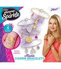 Shimmer N Sparkle Trendy Charm Bracelet