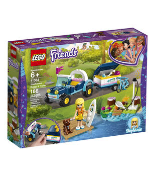 LEGO Friends Stephanie's Buggy & Trailer Set