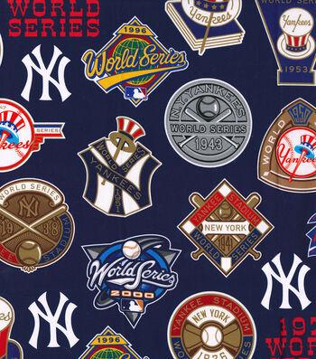 New York Yankees Cotton Fabric -Champion Legacy