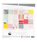 Heidi Swapp Color Fresh 36-sheet 12\u0027\u0027x12\u0027\u0027 Paper Pad