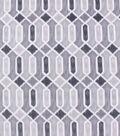 Anti-Pill Plush Fleece Fabric-Sketched Geo