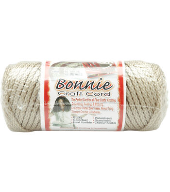 Pepperell Bonnie Macrame Craft Cord 4mm 50yd