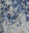 Sportswear Denim Fabric-Floral on Tie Dye