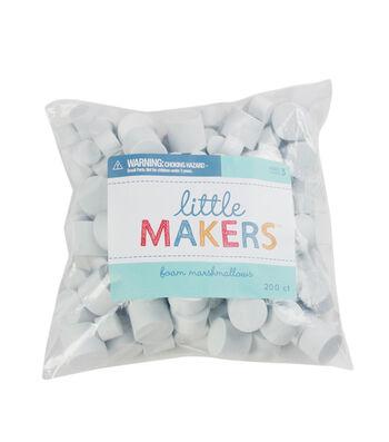 Little Makers Bulk Pack Foam Marshmallows-50Pk