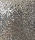 Packed All Over Sequin Fabric 56\u0022-Alloy