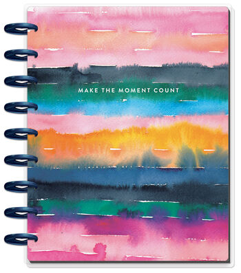 Happy Planner 12 Month Classic Planner-Watercolor Rainbow
