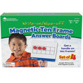 Learning Resources Magnetic Answer Write & Wipe Board Set, 4 Per Pack