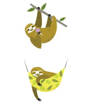 Cricut Small Sloth Nap Iron-On Design