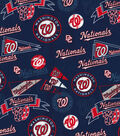 Washington Nationals Vintage Cotton Fabric -Navy