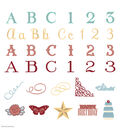 Cricut Anna Griffin Soiree Lettering Cartridge