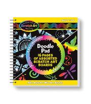 Melissa & Doug Scratch Art Doodle Pad, , hi-res