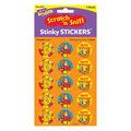 Trend Enterprises Inc. Thanksgiving Time/Pumpkin Stinky Sticker, 60/Pack