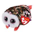 Ty Inc. Teeny Tys Sequin Pink Black Owl-Checks