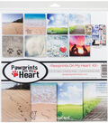 Reminisce Collection Kit 12\u0022X12\u0022-Pawprints On My Heart