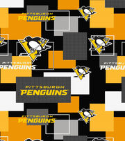 Pittsburgh Penguins Cotton Fabric -New Block, , hi-res