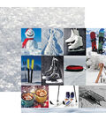Snow Day Double-Sided Cardstock 12\u0022X12\u0022-Snow Day