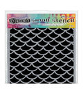Ranger Dyan Reaveley\u0027s Dylusions Small Stencil-Fishtails