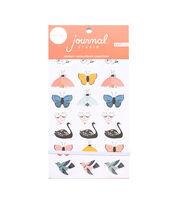 American Crafts Journal Studio Sticker Book Crate Paper Bugs, , hi-res