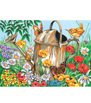 "12""x15-1/2"" Paint By Number Kit-Watering Can, , hi-res"