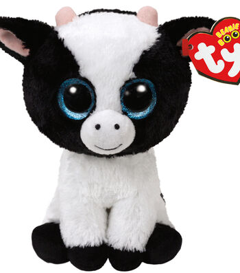 TY Beanie Boo Cow-Butter